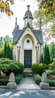 Mausoleum Stock by little-spacey