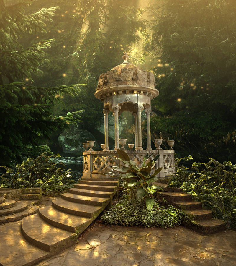 Sintra Premade Background by little-spacey