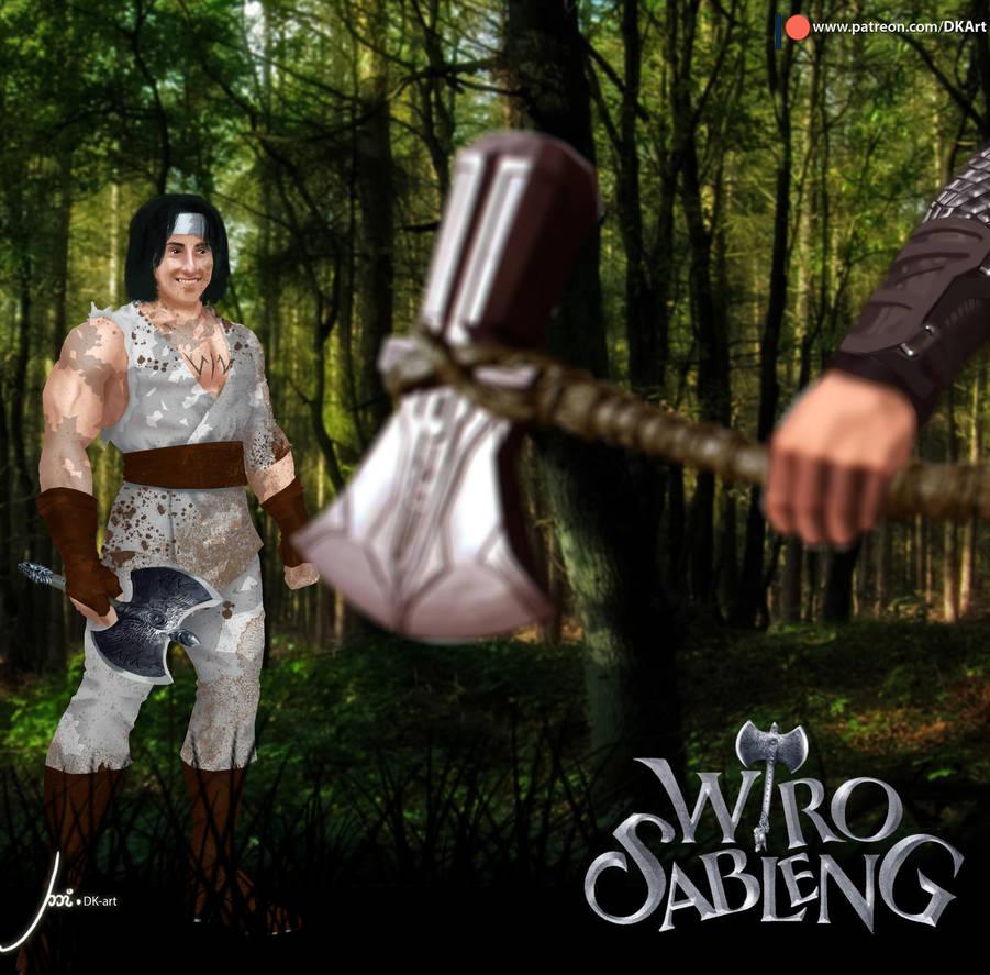 Wiro Sableng VS Thor! by DKArtStory