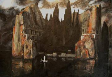 Isle of the Dead - Bocklin by samsamthedrummerman