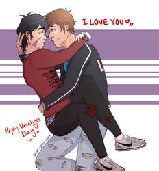 Valentines Day! ~ KLANCE - Speed Paint! by can-yoou-nott
