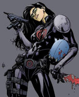Baroness by Zach Howard color by chaz 1-18-17 by ChazWest