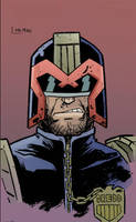 judge dredd by andrew kwan color by Chaz West 1-29 by ChazWest