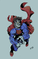 Bizarro Barry Mclain jr. color by Chaz 2-2-17 by ChazWest