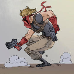 Grifter By Fernando Pinto Color by Chaz West 3-20- by ChazWest