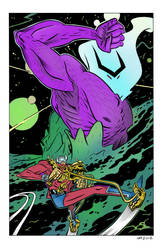 Orion by Andrew MacLean color by Chaz 10-23-17 by ChazWest