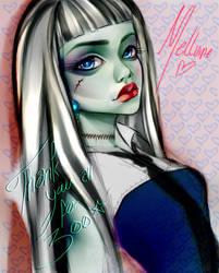 Monster High - Frankie Stein by Mellvine