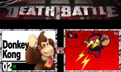 Donkey Kong vs Mighty Ray by Maskedwilliams52