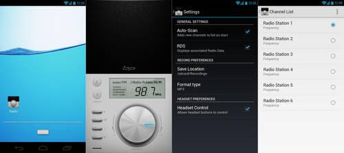 Radio 2.0 UI by bharathp666