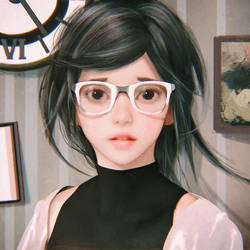 Glasses by cursedapple