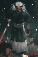 Oni Mask by cursedapple