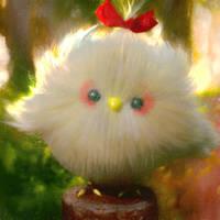 A White Bird by cursedapple