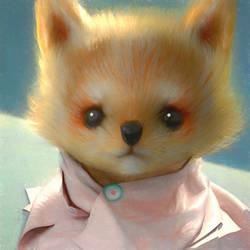 A Puppy :) by cursedapple