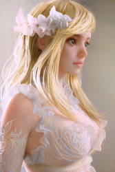 Blonde Hair by cursedapple