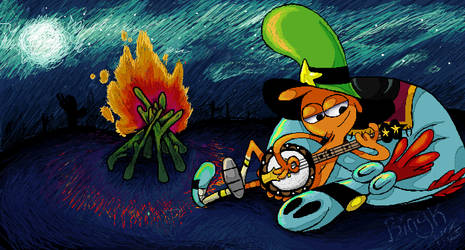 If you wander over yonder by Bingk