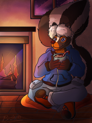 Parker's Warm Winter by BrokenWingsOfLight by AnthroLoverJay