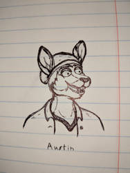 Austin - Doodle by AnthroLoverJay