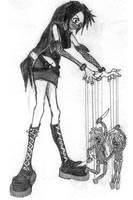 Puppet Mistress by xminikui