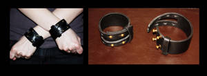 Scoundrel cuffs by RestlessLynx