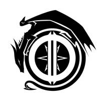 Draconic Dawn logo by RestlessLynx