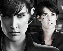 The Avengers. Collage. Maria Hill 2. by StalkerAE