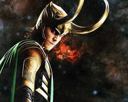 Tom Hiddleston. Loki 3 by StalkerAE