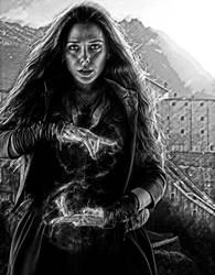 Avengers. Wanda by StalkerAE