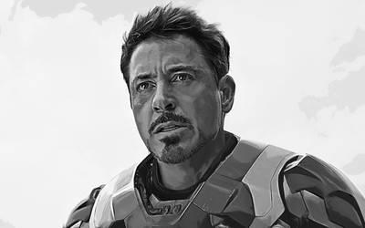 Civil war. Iron man. Tony Stark by StalkerAE