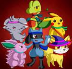 Team MagicAura Members by DarkrexS