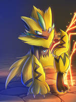 Zeraora by DarkrexS