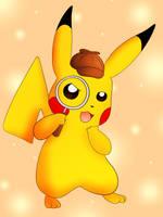 Detective Pikachu by DarkrexS
