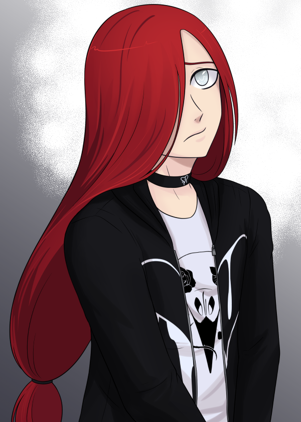 Red hair by TerminusLucis