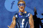 Super Facebook Man by vueman