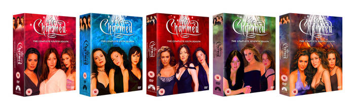 Charmed DVD Collection Seasons 4-8 by ShiningAllure