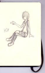 Kat_Sketch by Le-Narcissique