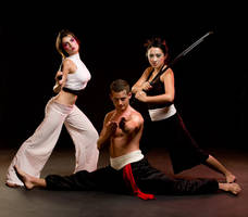 Martial Arts Fasion 02 by Dilznacka