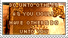 stamp : do unto others by kaifcsl