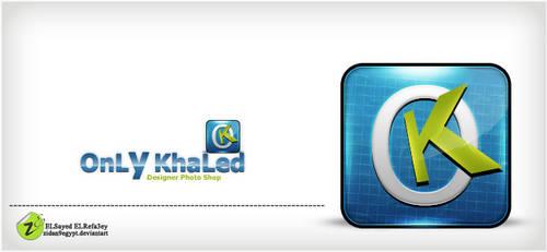 OnLy KhaLed logo 2 by ZiDaN9EGYPT