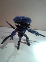 Alien (Mortal Kombat X) by fuzzyfigureguy