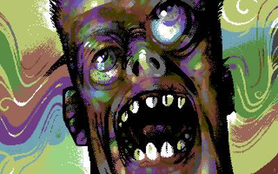 Joe's 136 Colors LSD Trip by arnoldcsisztai