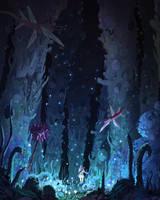 nausicaa toxic jungle by spiridt