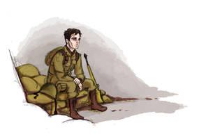 Bucky at war by Salzburger89