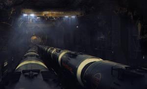 Portal 2: Underground Railway 1 by demol1sher