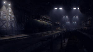 Portal 2: Underground Depot by demol1sher