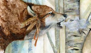 Watercolor: Breath by Darkenmarr