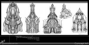Ilvari Structure Concepts by RynoZebz