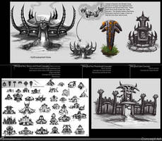 Morghul Structure Concepts by RynoZebz