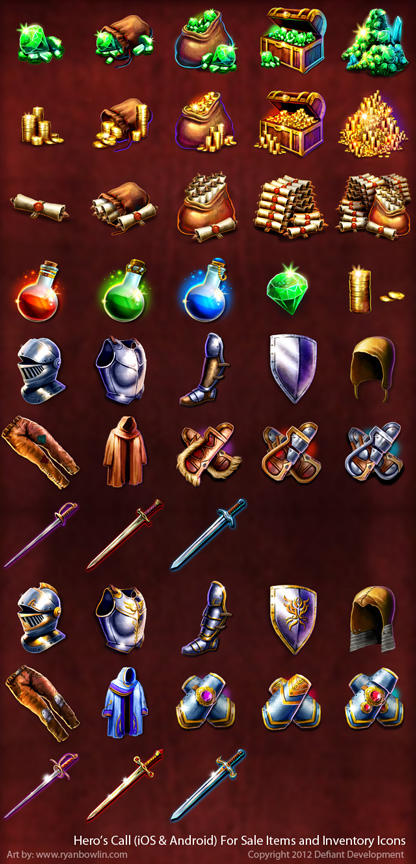 Heroes Call Icons by RynoZebz