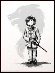 Arya Stark - Game of Thrones by RynoZebz