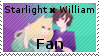 Starlight x William Fan Stamp by Starlight-Enterprise